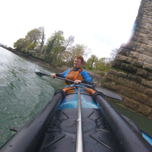 Kayaking on the Menai Strait